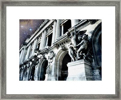 Paris Opera House - Palais Garnier - Opera De Paris Garnier - Opera House Architecture Framed Print
