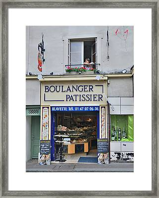 Paris Patissier Framed Print