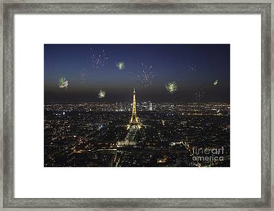 Paris Framed Print by Patricia Hofmeester