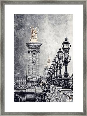 Paris Pompous 2 Framed Print