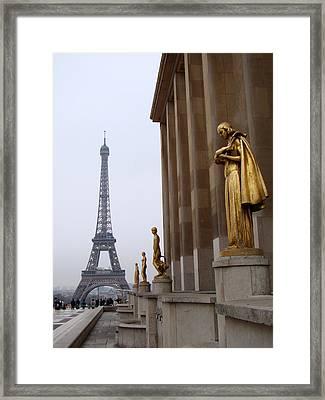 Paris Framed Print by Sanjeewa Marasinghe