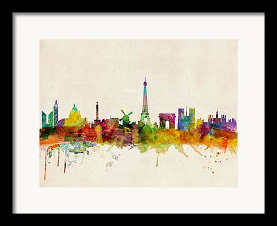 Eiffel Tower Framed Prints