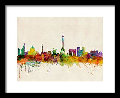 Tower Framed Prints