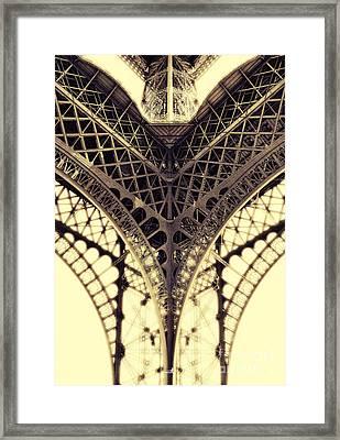 Paris Steel Framed Print by ARTSHOT - Photographic Art