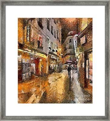 Paris St. Germain Framed Print