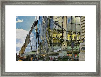 Paris Streets 3 Framed Print by Yury Malkov