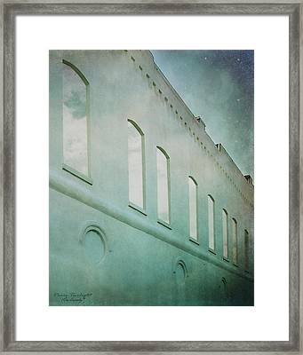 Paris Twilight Framed Print