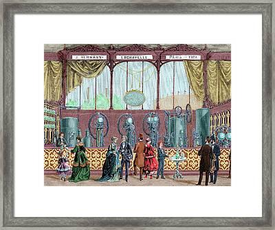 Paris Universal Exhibition (1878 Framed Print