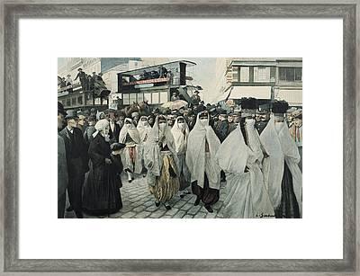 Paris Universal Exhibition Exposition Framed Print by Everett