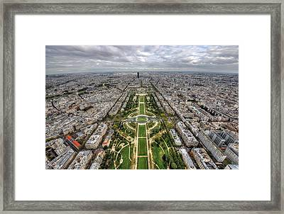 Paris Wide View Framed Print by Ioan Panaite