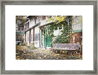 Parisian Alley Framed Print