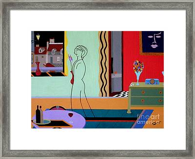 Parisienne Colors Framed Print
