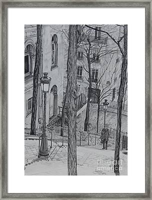 Parisienne Walkways Framed Print