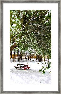 Park 1 Framed Print by Lanjee Chee