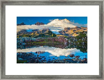 Park Butte Tarn Framed Print