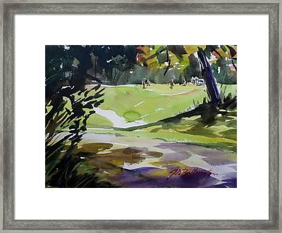 Park Drive IIi Framed Print