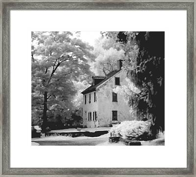 Park House Framed Print by Jerome Moore