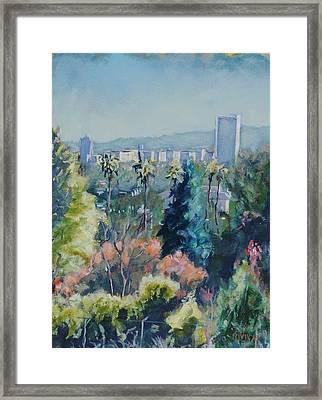Park La Brea Framed Print