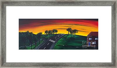 Park Lane Framed Print by Kenneth Clarke