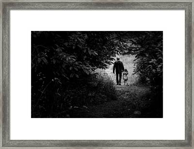 Park Framed Print by Milan Kalkan