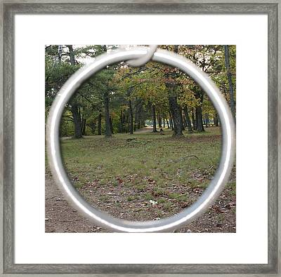Park Framed Print