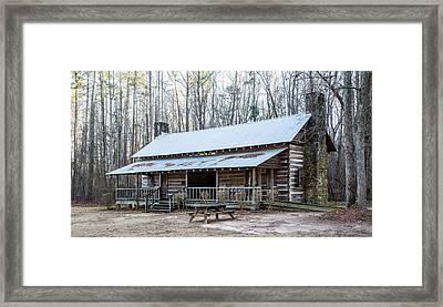 Park Ranger Cabin Framed Print
