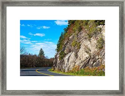 Park Road Framed Print by Melinda Fawver