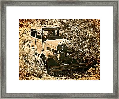 Parked 3 Framed Print by Leland D Howard