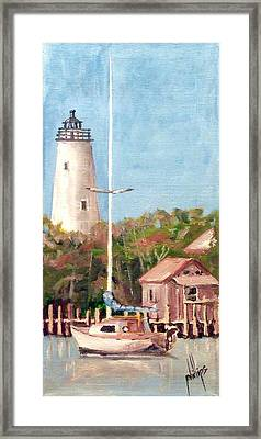 Parked By Ocracoke Framed Print
