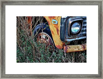 Framed Print featuring the photograph Parked Fuel Oil Truck by Greg Jackson