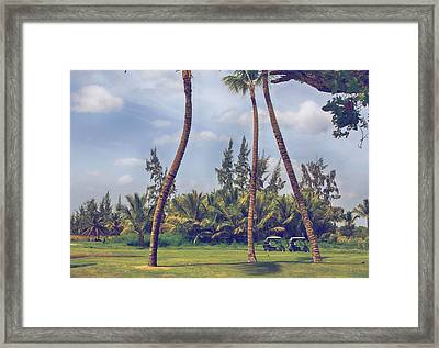 Parked Framed Print by Laurie Search
