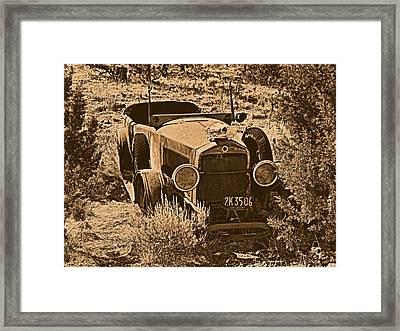 Parked Framed Print by Leland D Howard