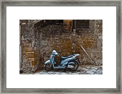 Parked Framed Print