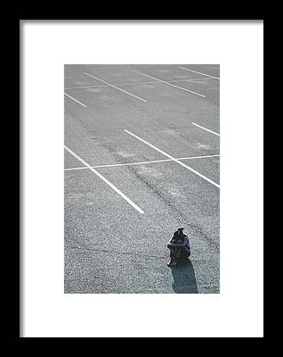 Sad Points Of View Framed Prints