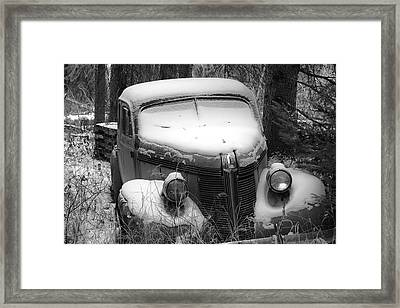 Parked Framed Print