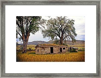 Parker Homestead Framed Print by Marty Koch