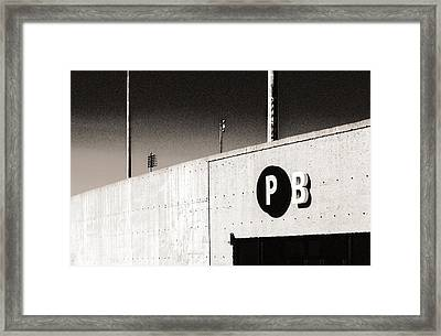 Framed Print featuring the photograph Parking B by Arkady Kunysz