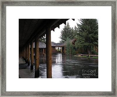Parking Lot Framed Print by Greg Patzer