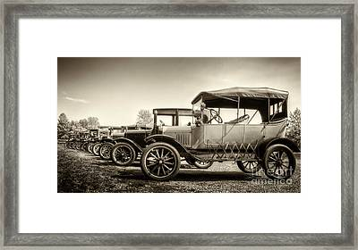 Parking Framed Print