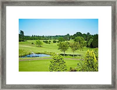 Parkland Framed Print