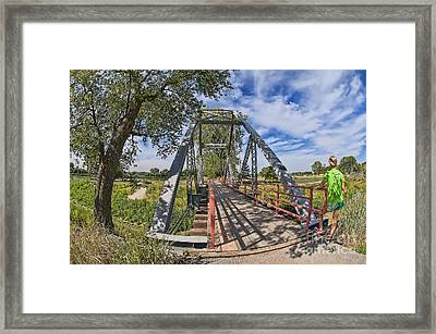 Parkville Missouri Framed Print by Liane Wright