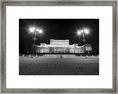 Parliament Building Framed Print by Ioan Panaite
