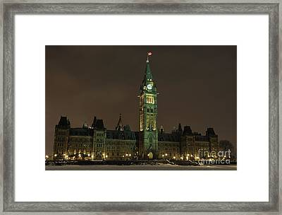 Parliament Hill Framed Print
