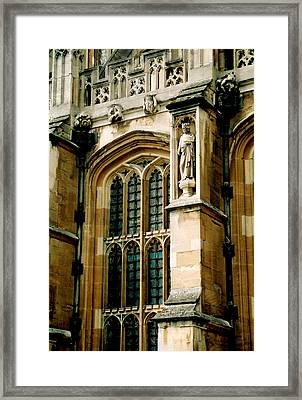 Parliament In London Framed Print