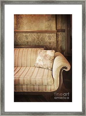 Parlor Seat Framed Print by Margie Hurwich