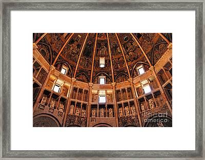 Parma Baptistery Framed Print