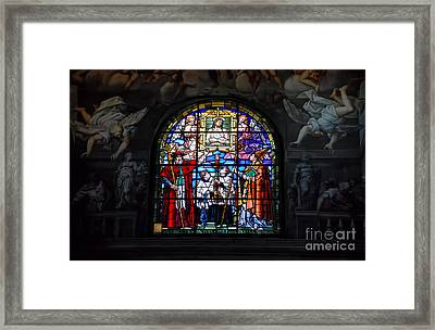 Parma West Window Framed Print