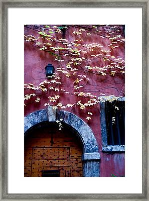 Paroisse Orthodoxe Framed Print