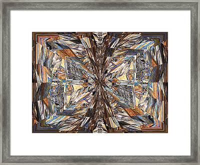 Parquet Mania Framed Print