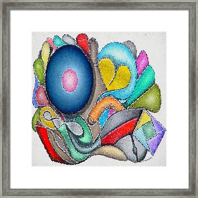 Parrot Series 0 Framed Print by George Curington